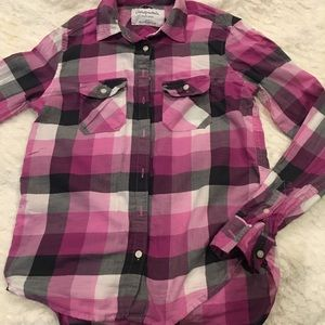 Aeropostale XS long sleeve button down shirt